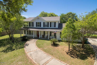 Ocean Springs Single Family Home For Sale: 1501 Noble Rd