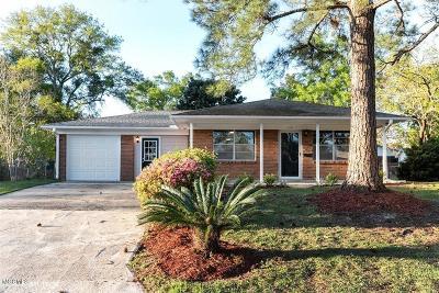 Gulfport Single Family Home For Sale: 114 Deanna St