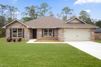 Gulfport Single Family Home For Sale: 16282 Walker Farm Ln