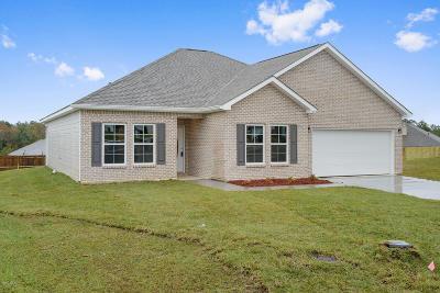 Gulfport Single Family Home For Sale: 14320 Tori Dawn Dr