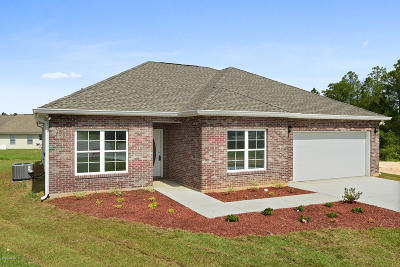 Gulfport Single Family Home For Sale: Lot 40 Christina Michelle Ct