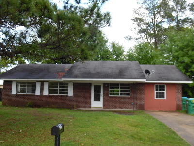 Gulfport Single Family Home For Sale: 806 Shirley Dr