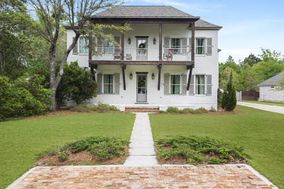 Gulfport Single Family Home For Sale: 13140 Lake Florence Rd