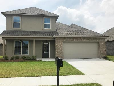 Ocean Springs Single Family Home For Sale: 478 Palm Breeze Dr