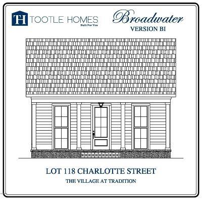 Biloxi Single Family Home For Sale: Lot 118 Charlotte St