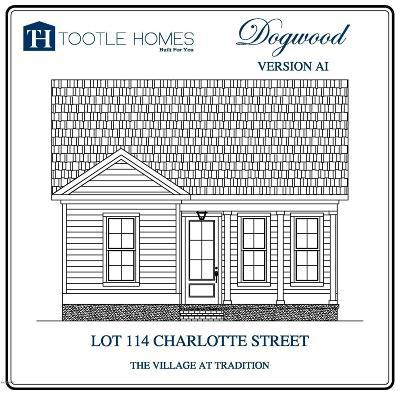 Biloxi Single Family Home For Sale: Lot 114 Charlotte St