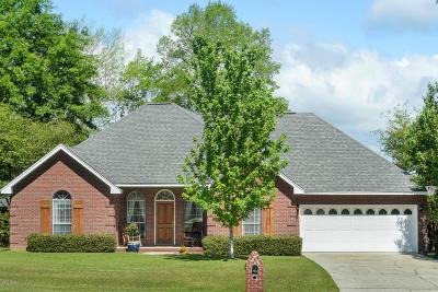 Gulfport Single Family Home For Sale: 15221 Swan Lake Blvd