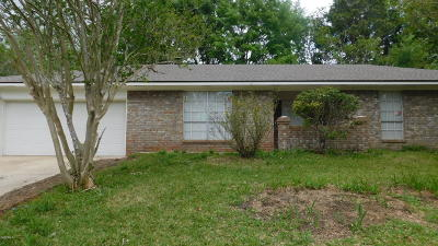 Gulfport Single Family Home For Sale: 12438 W Briarwood Dr