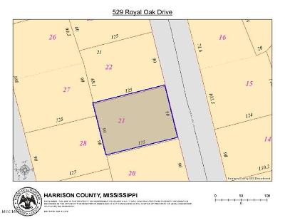 Pass Christian Residential Lots & Land For Sale: 529 Royal Oak Dr