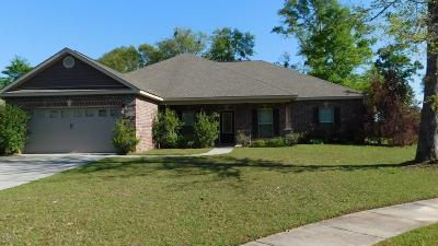 Ocean Springs Single Family Home For Sale: 1019 Cardinal Cv