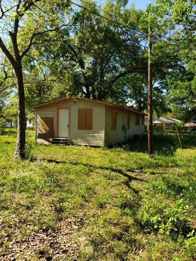 Gulfport MS Single Family Home For Sale: $24,990