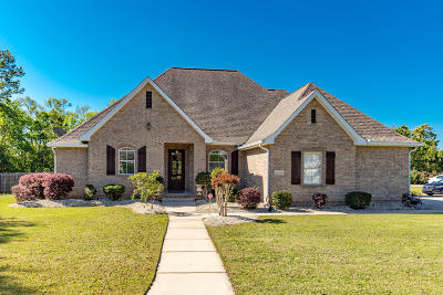 Ocean Springs Single Family Home For Sale: 6210 Olde Magnolia Dr
