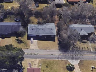 Gulfport Single Family Home For Sale: 15293 St Charles St