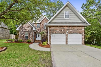 Ocean Springs Single Family Home For Sale: 809 Magnolia Bayou Blvd