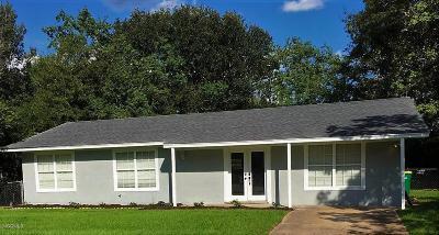 Ocean Springs Single Family Home For Sale: 6560 Cortez Cir