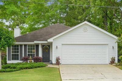 Diamondhead Single Family Home For Sale: 9750 Kaena St