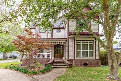 Ocean Springs Single Family Home For Sale: 1301 Calhoun Ave