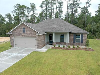 Ocean Springs Single Family Home For Sale: 11661 Brookstone Dr