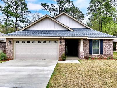 Gulfport Single Family Home For Sale: 10500 Roundhill Dr