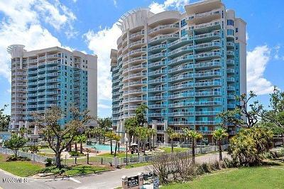 Gulfport Condo/Townhouse For Sale: 2228 Beach Dr #1008
