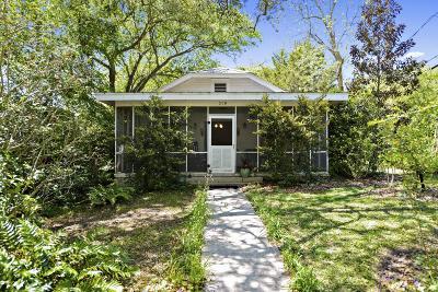 Ocean Springs Single Family Home For Sale: 319 Washington Ave