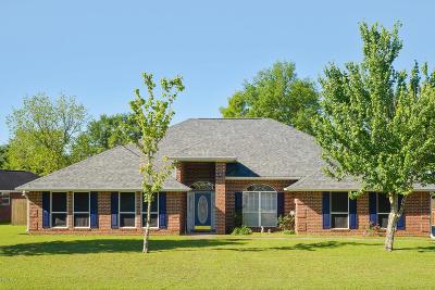Gulfport Single Family Home For Sale: 11531 Magnolia Estates Ln