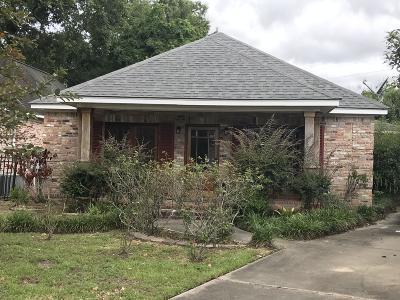 Gulfport Single Family Home For Sale: 1807 Burton Ave