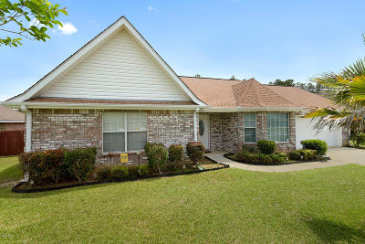 Ocean Springs Single Family Home For Sale: 10712 Serene Cv