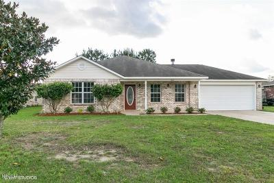 Ocean Springs Single Family Home For Sale: 7624 Falcon Cir