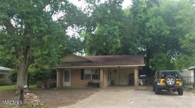 Gulfport MS Single Family Home For Sale: $75,000