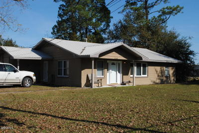 Gulfport Single Family Home For Sale: 15168 Evans St