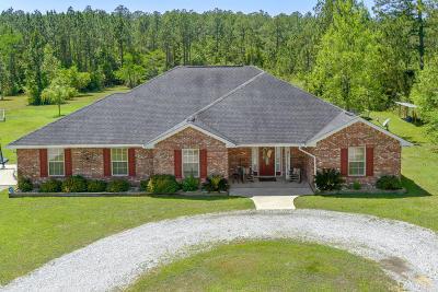 Gulfport Single Family Home For Sale: 11301 W Pinehurst Pl