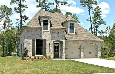 Ocean Springs Single Family Home For Sale: 11652 Brookstone Dr