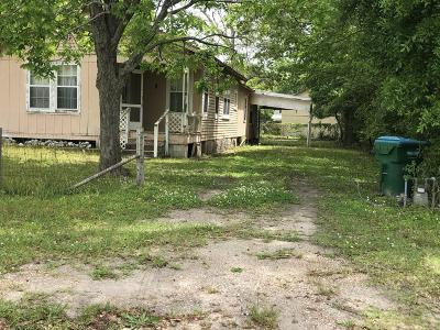 Gulfport MS Single Family Home For Sale: $39,000