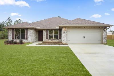 Gulfport MS Single Family Home For Sale: $204,900