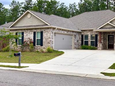 Biloxi Single Family Home For Sale: 12351 Desoto Trails Cir