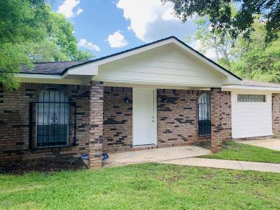 Biloxi Single Family Home For Sale: 15304 Anderson Dr