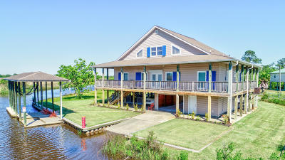 Bay St. Louis Single Family Home For Sale: 4166 Old Lazy River Rd