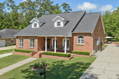 Diamondhead Single Family Home For Sale: 85534 W Diamondhead Dr