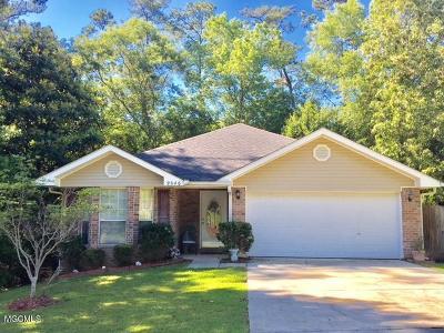 Diamondhead Single Family Home For Sale: 9546 Laa La Way