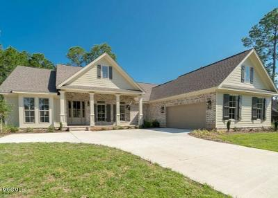 Gulfport Single Family Home For Sale: Carriagewood Dr #Lot #7
