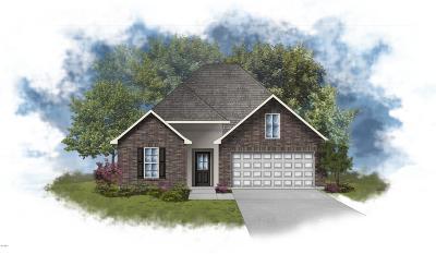 Biloxi Single Family Home For Sale: 1615 Reunion Place Cir