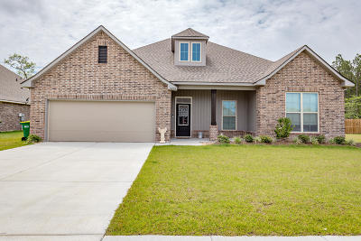 Ocean Springs Single Family Home For Sale: 12852 Jackson Lee