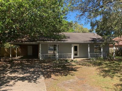 Ocean Springs Single Family Home For Sale: 1525 S 8th St