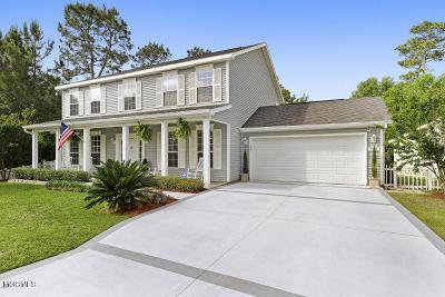 Ocean Springs Single Family Home For Sale: 5809 Julie Ln