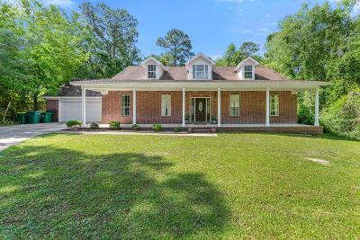 Ocean Springs Single Family Home For Sale: 8905 Live Oak Ave