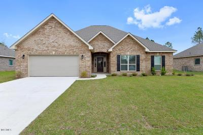 Ocean Springs Single Family Home For Sale: 6421 Chickory Way