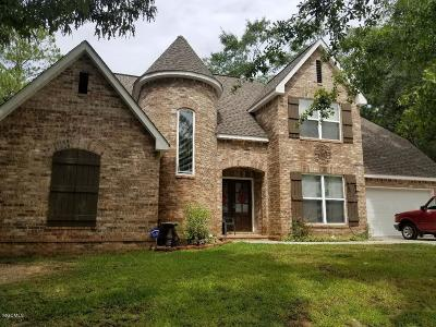 Biloxi Single Family Home For Sale: 16497 Lamey Ln