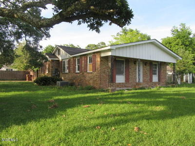 Biloxi Single Family Home For Sale: 1896 Southern Ave