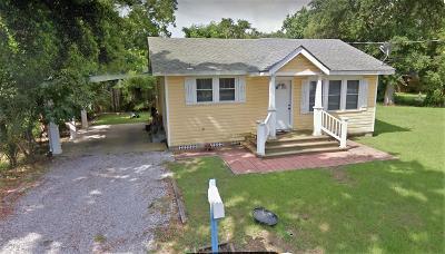 Bay St. Louis Single Family Home For Sale: 346 Demontluzin Ave